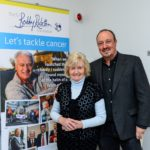 Rafael Benitez Accompanies Lady Elsie Robson to the the Sir Bobby Robson Cancer Unit at the Freeman Hospital
